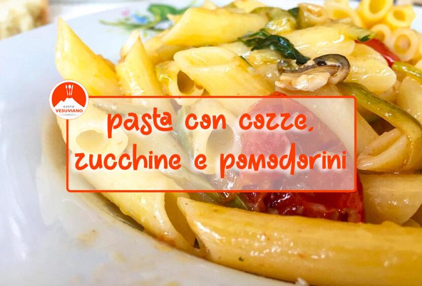 pasta-cozze-zucchine-pomodorini
